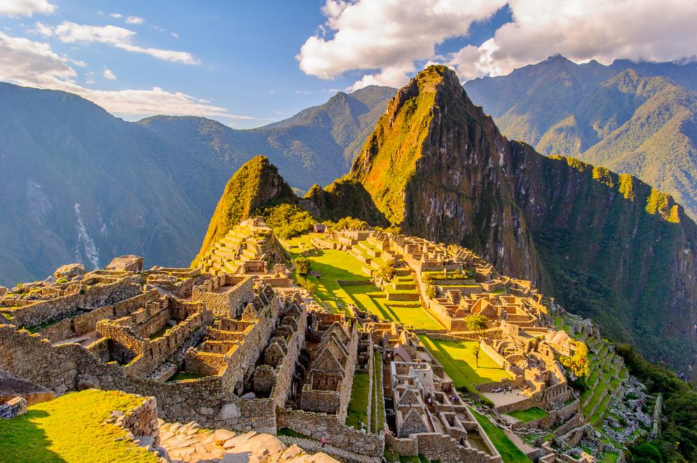 Machu Picchu in Perù sette meraviglie del mondo
