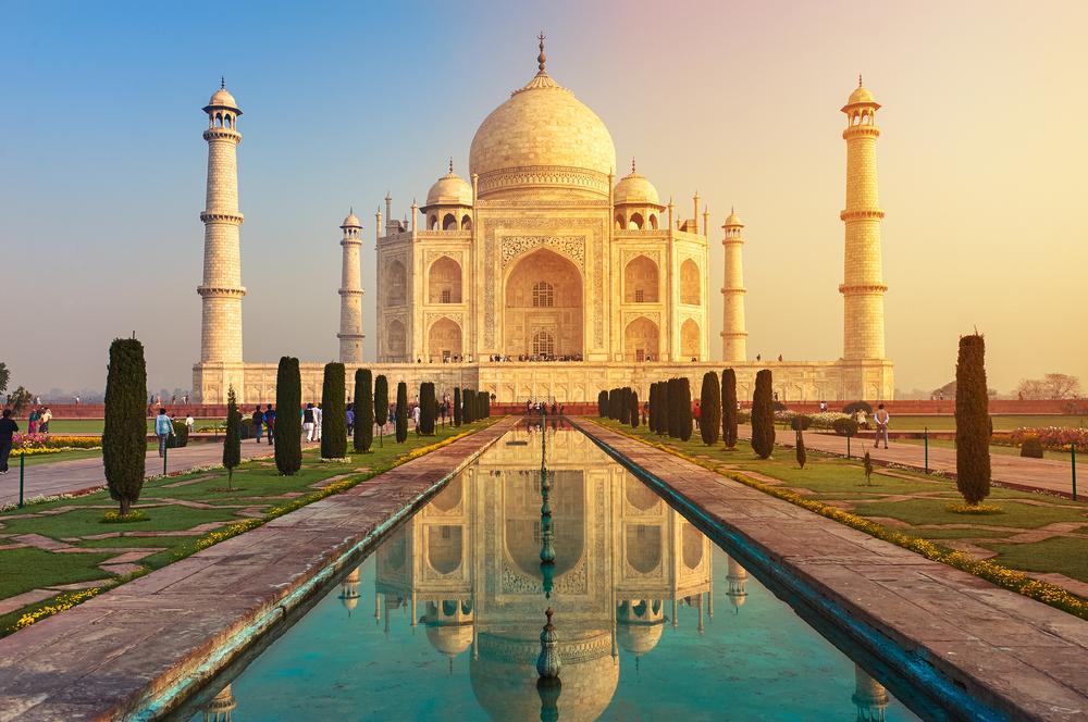 Taj Mahal, mausoleo in India sette meraviglie del mondo