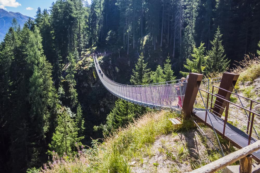 ponte tibetano in italia