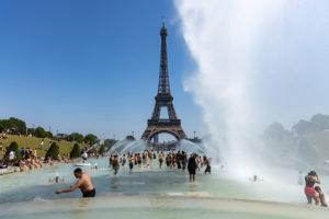 A Parigi battuto il record di temperatura massima in oltre un secolo: 42,6 °C