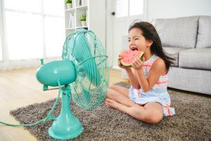 Casa fresca senza aria condizionata
