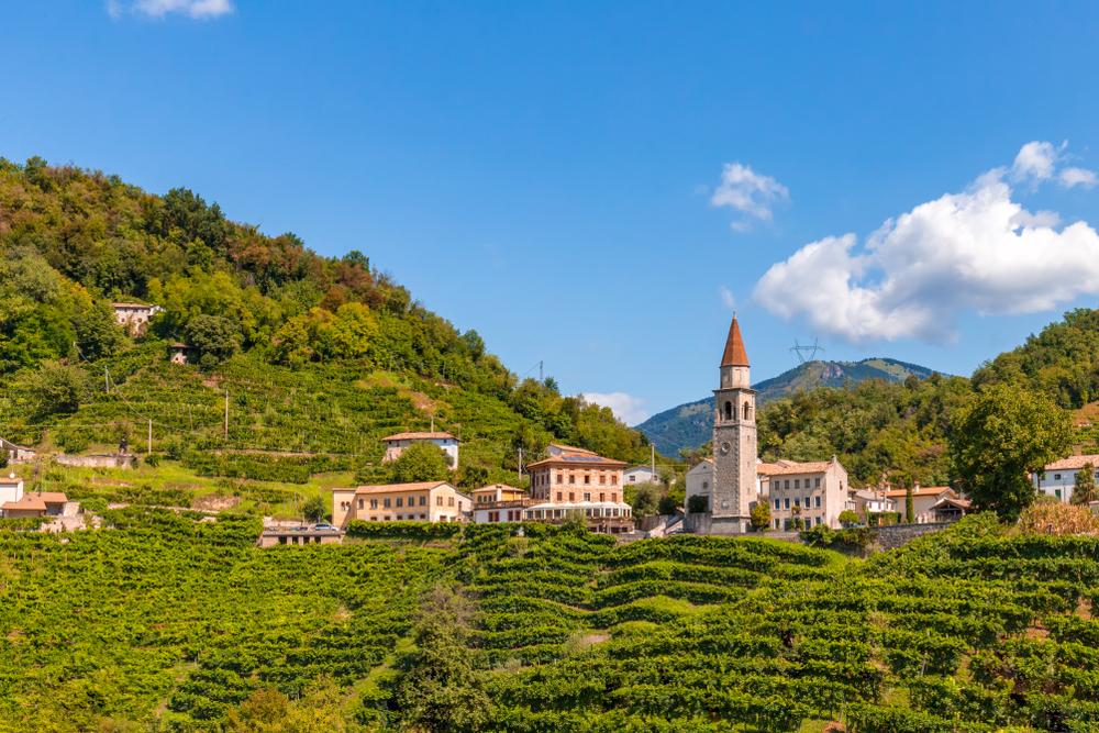 colline del prosecco italia