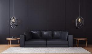 Pillole di Interior Design: l'arredamento Total black