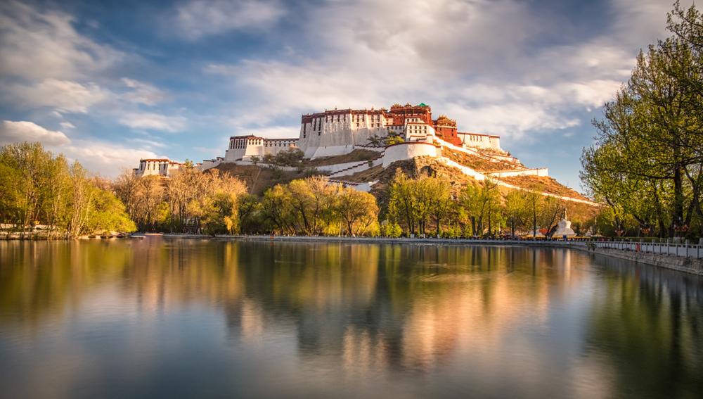 tibet cina città rilassanti