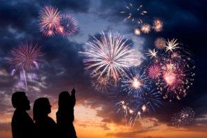 Fuochi d'artificio a ferragosto