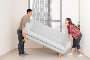 spostare i mobili in casa