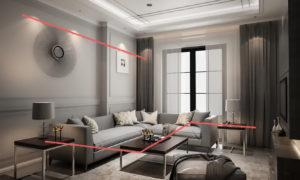 Fili ottici percezione degli ambienti nell'Interior Design