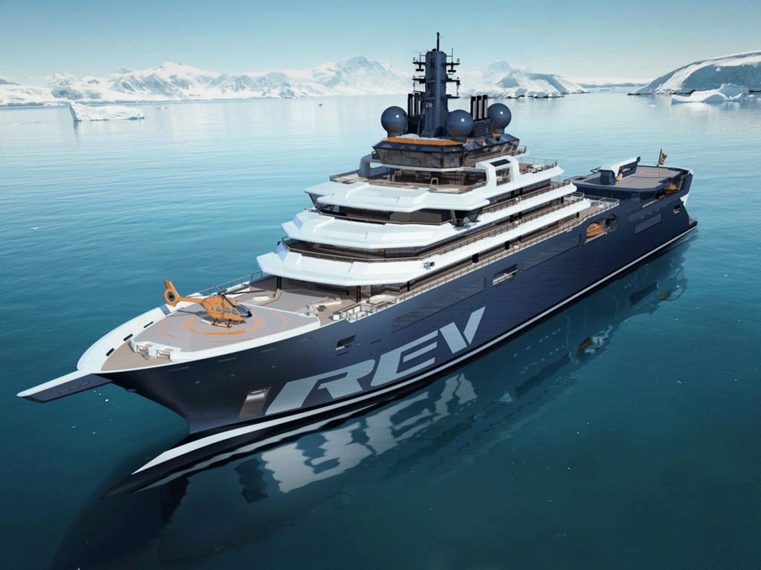 Varata la nave da ricerca più grande mai costruita