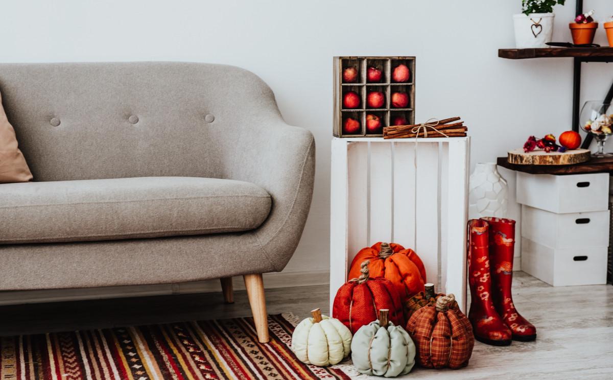 decorare casa in autunno