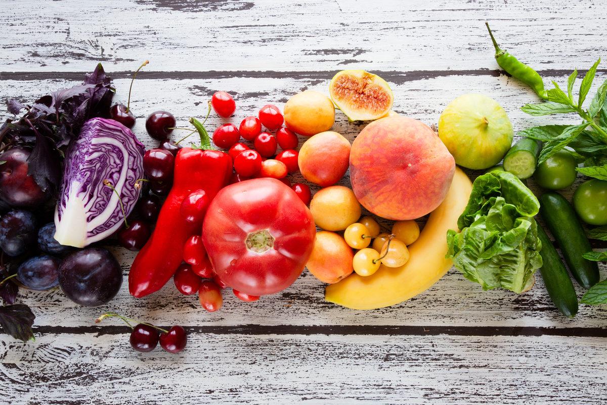 I cinque colori della salute