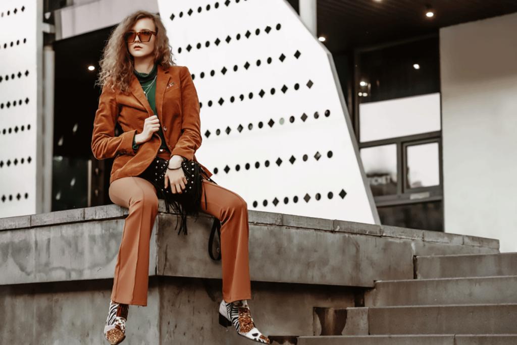 blazer in velluto collezione 2019