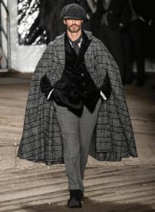 autunno inverno 2019 abito maschile