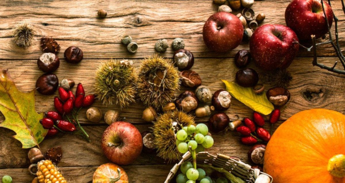 La frutta d'autunno