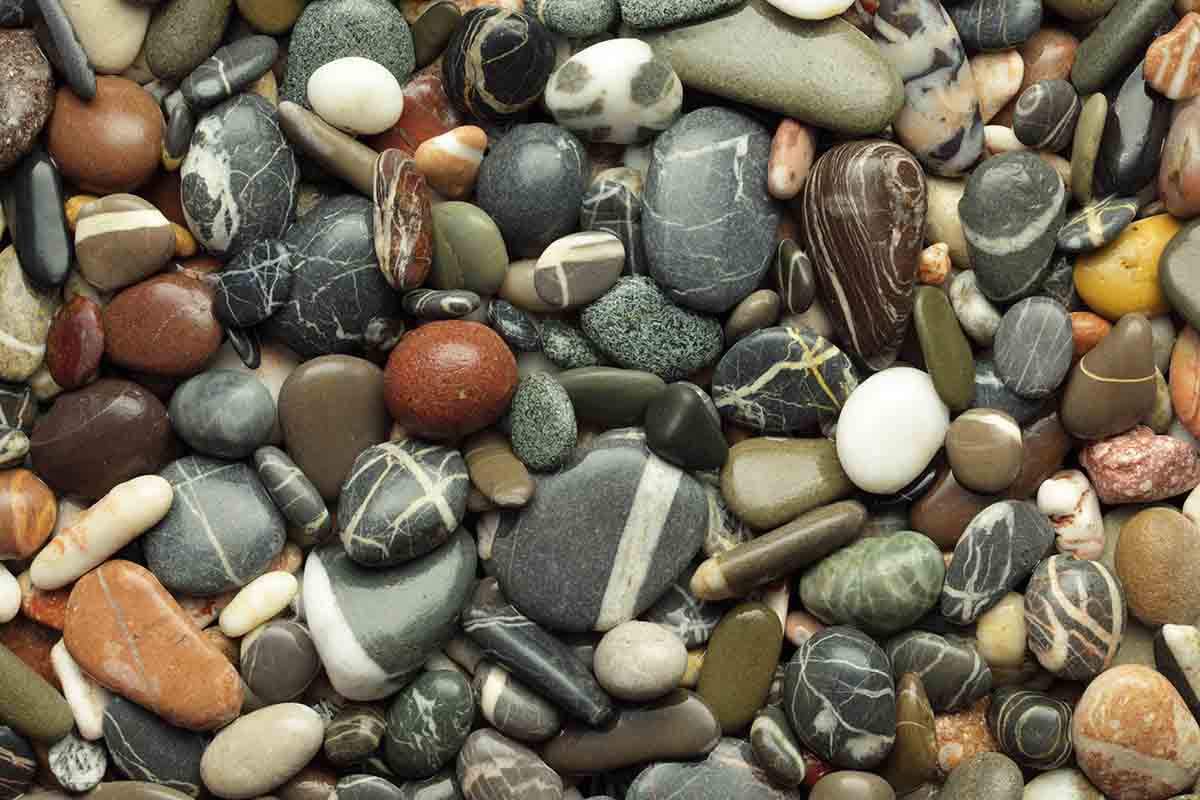 Pietre e sassi per arredare la casa