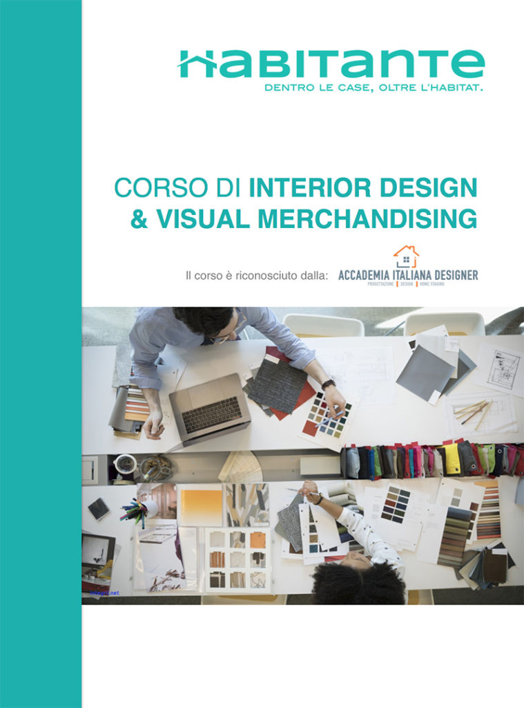 Corso Interior Design e Visual Merchandising teledidattica