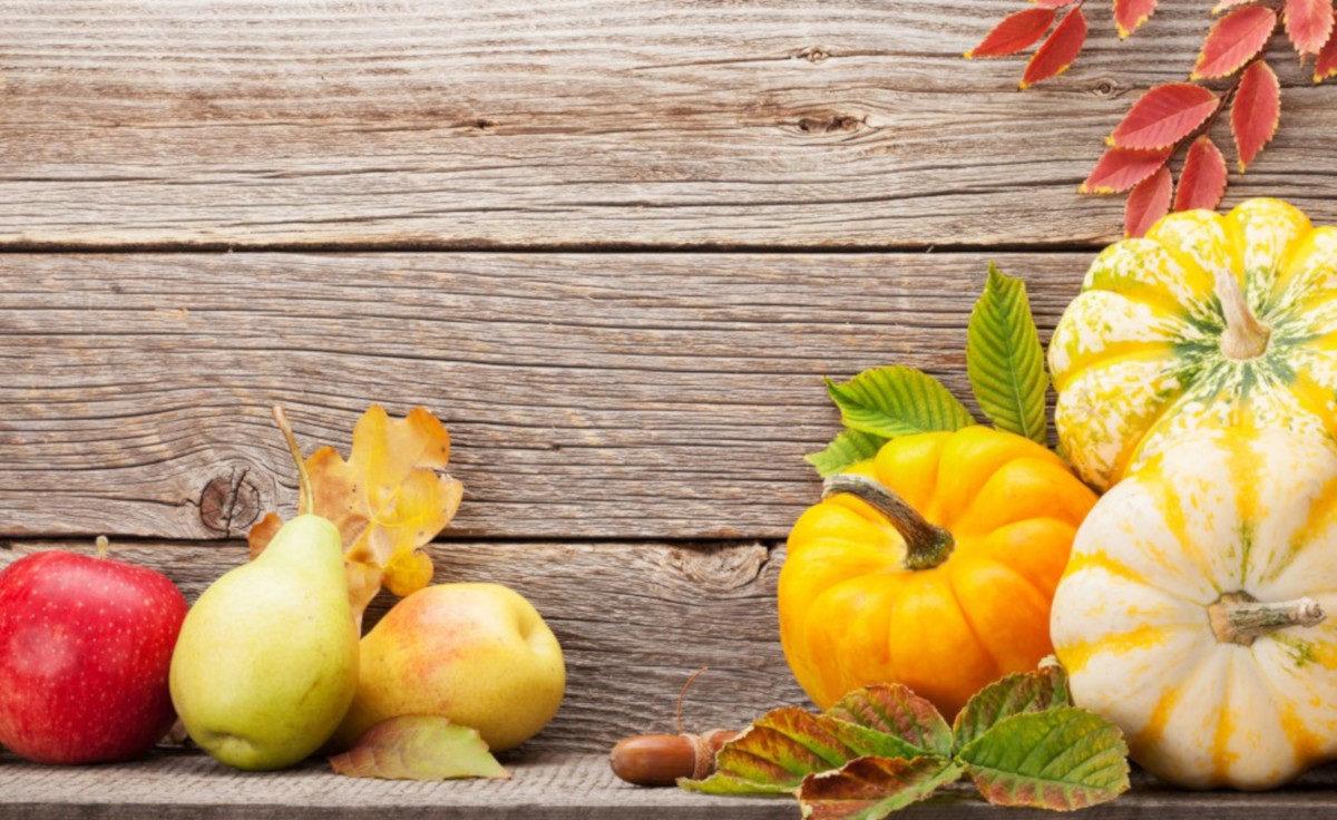 Frutta e verdura nel mese di Novembre