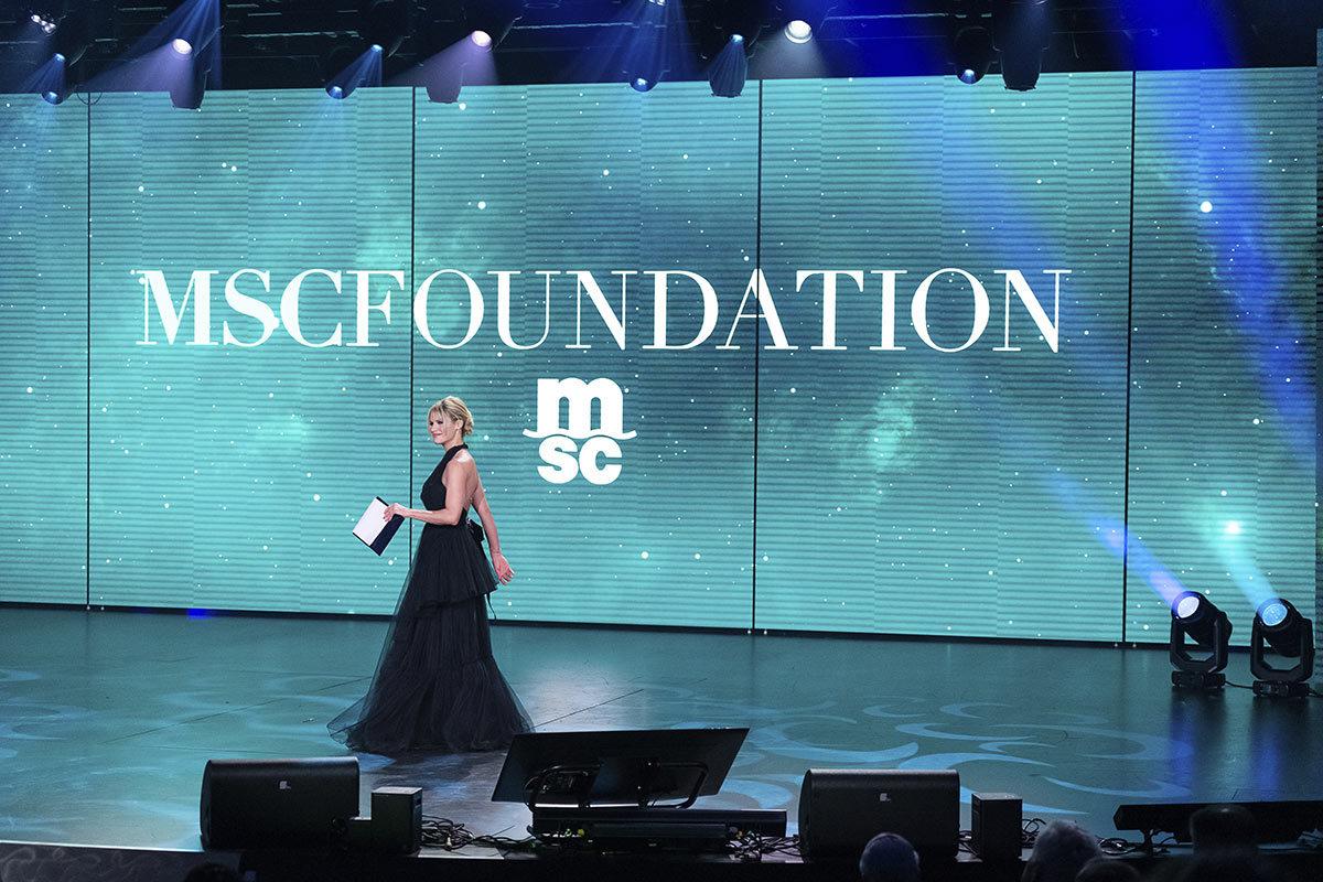 La presentazione di MSC-Foundation avvenuta ad Amburgo il 9 novembre 2019