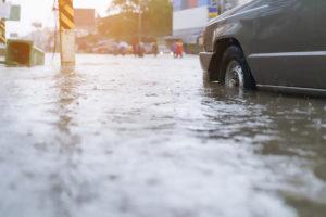 Alluvione in città