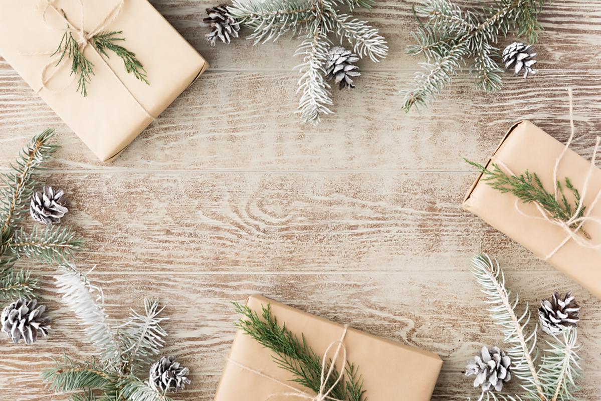 Decorare con i pacchi a Natale
