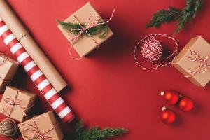 Pacco Natale Beige