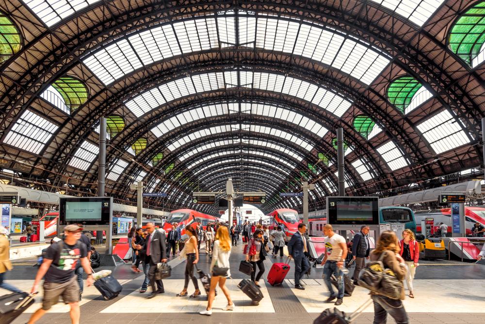 Il fascino della Stazione Centrale di Milano