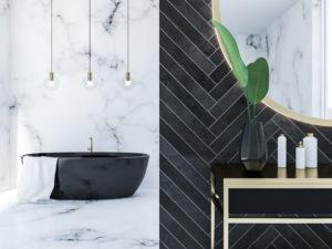Le tendenze dei colori per le pareti del bagno nel 2020