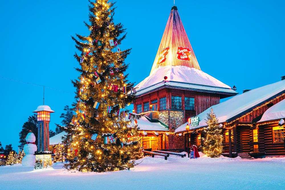 Dove Si Trova In Questo Momento Babbo Natale.Dove Abita Babbo Natale Tutto Sulla Casa Di Santa Claus Habitante