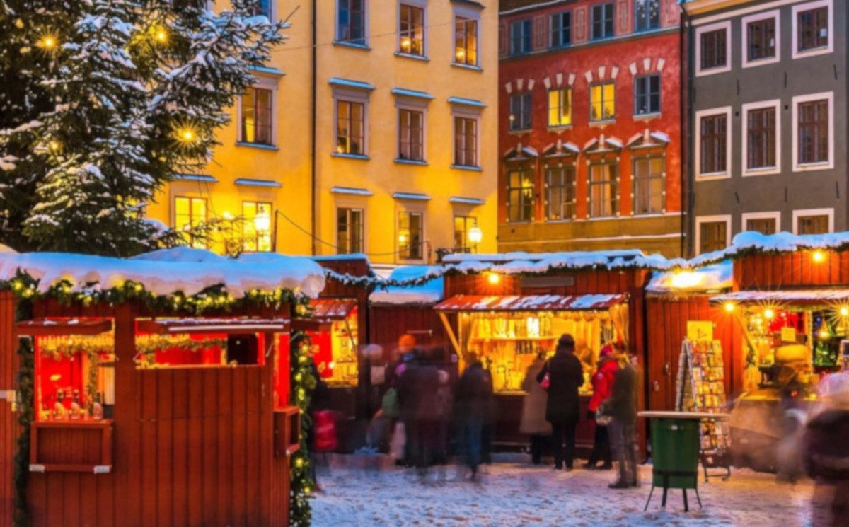 I più bei Mercatini di Natale da visitare all'estero: il mercatino di Stoccolma, Svezia