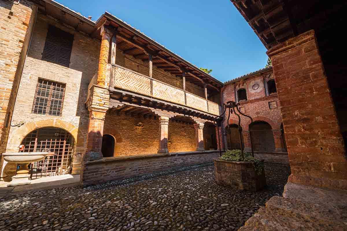 Il borgo di Castell'Arquato