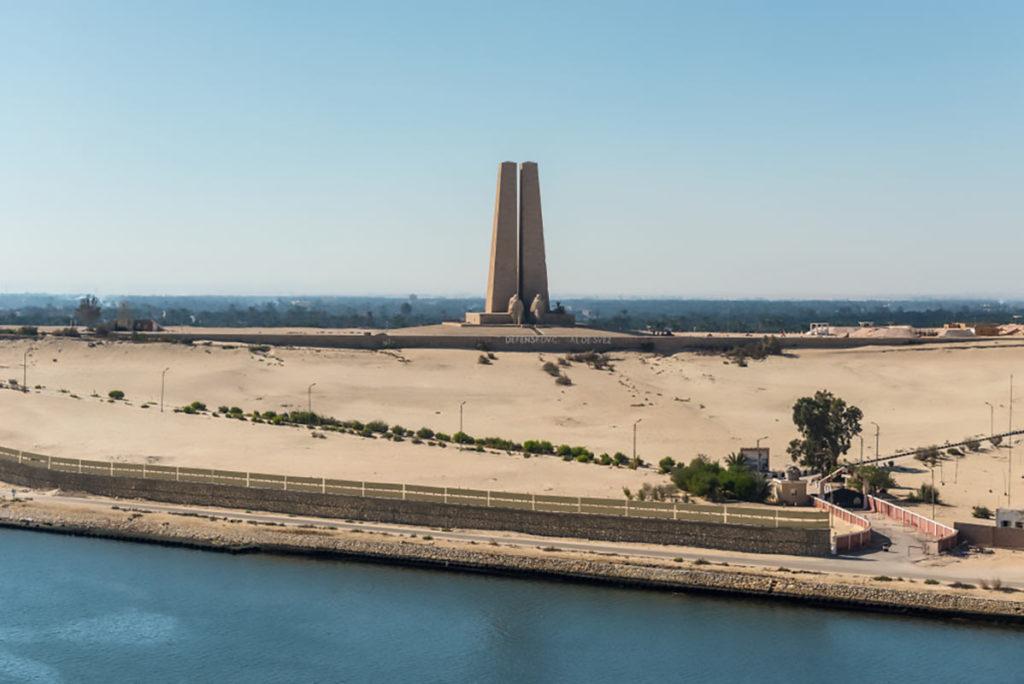 War monument (Defense Du Canal De Suez)