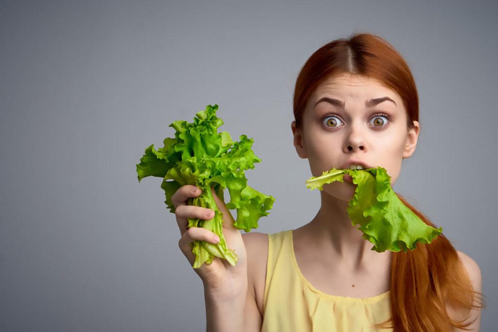 Ragazza Vegana