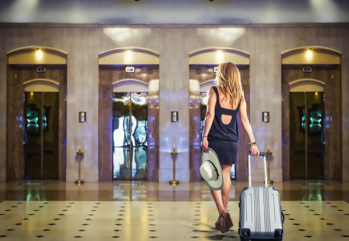 affitto abiti di lusso in Hotel