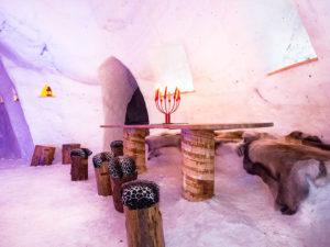 Una notte in un igloo