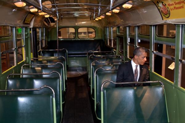 La foto è stata pubblicata su Twitter da Macon Phillips, responsabile New Media della Casa Bianca.