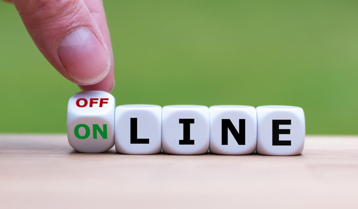rimanere offline