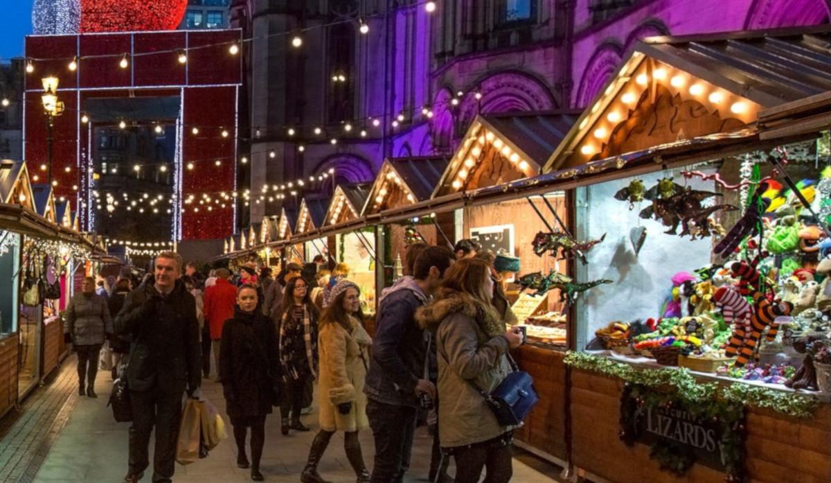 I più bei Mercatini di Natale da visitare all'estero: il mercatino di Manchester in Inghilterra