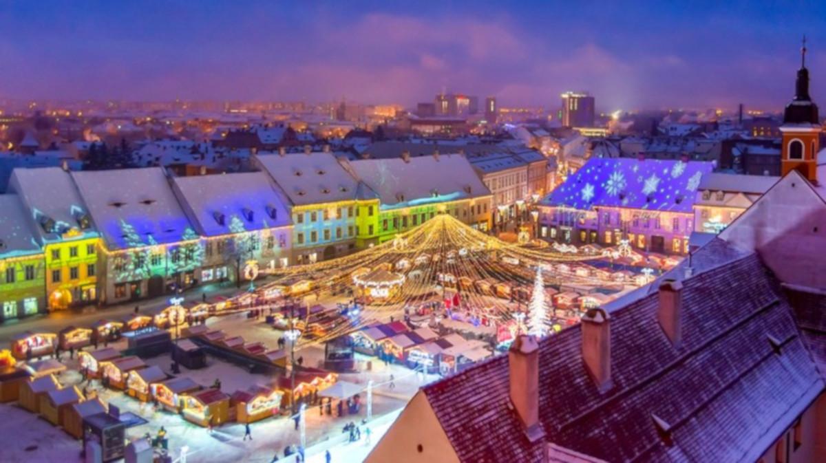 I più bei Mercatini di Natale da visitare all'estero: il mercatino di Natale di Sibiu in Romania