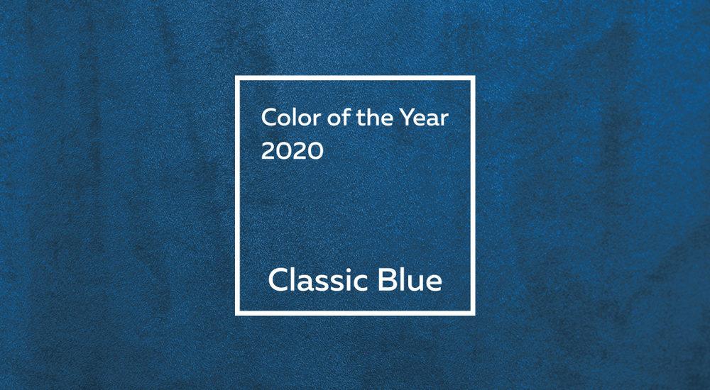 Pantone svela il protagonista del 2020: il Classic Blue