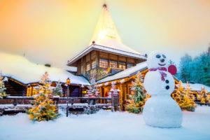 Dove si trovo il villaggio di Babbo Natale?