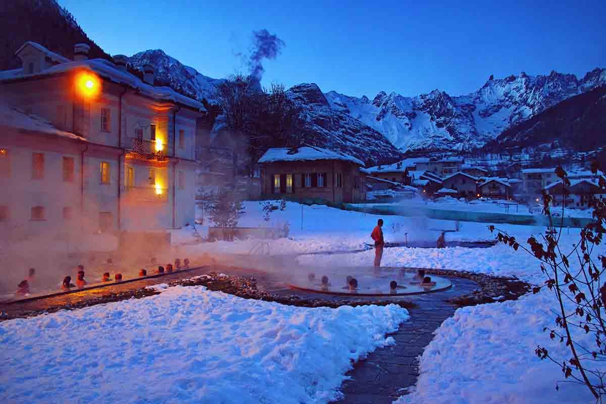 Il benessere anche in inverno: 5 centri termali in Italia
