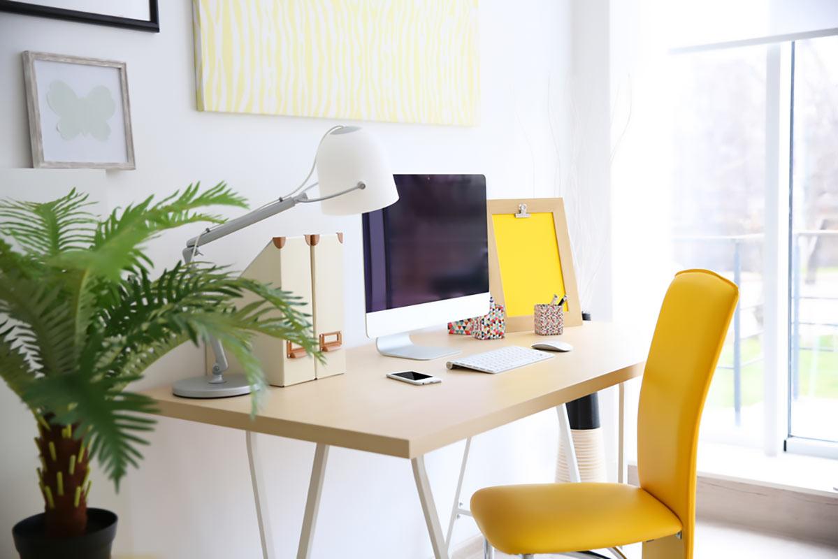 scrivania angolo studio