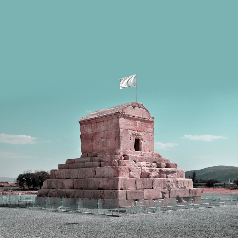 #Peace: i siti UNESCO in Iran sventolano bandiera bianca nelle immagini di Mohammad Hassan Forouzanfar