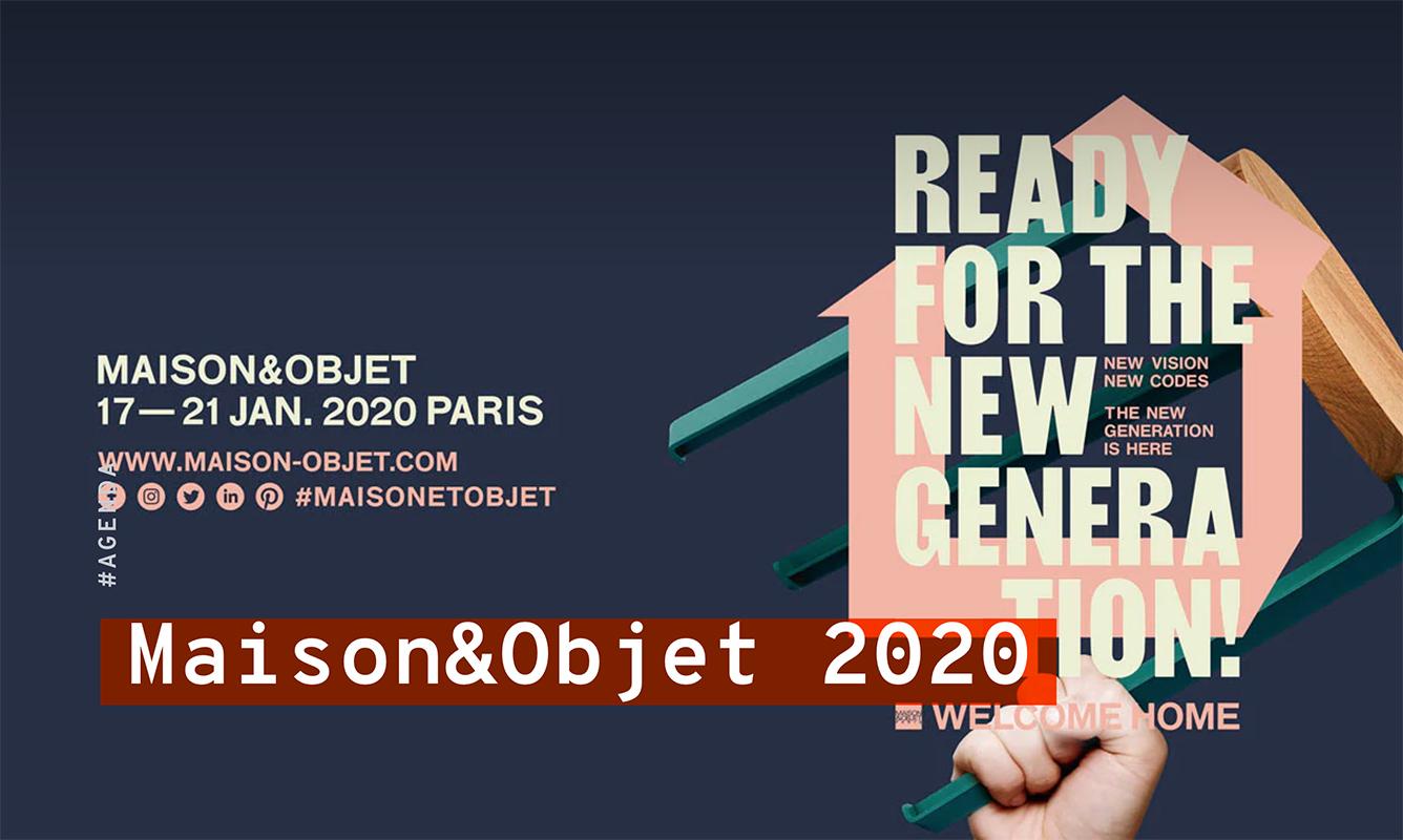 Maison & Objet dal 17 al 21 Gennaio a Parigi -