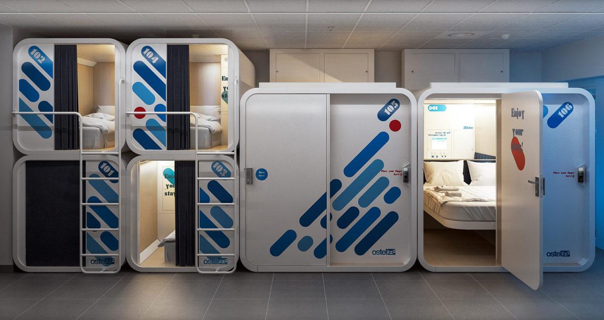 A Torino e Milano si dorme nelle capsule low cost