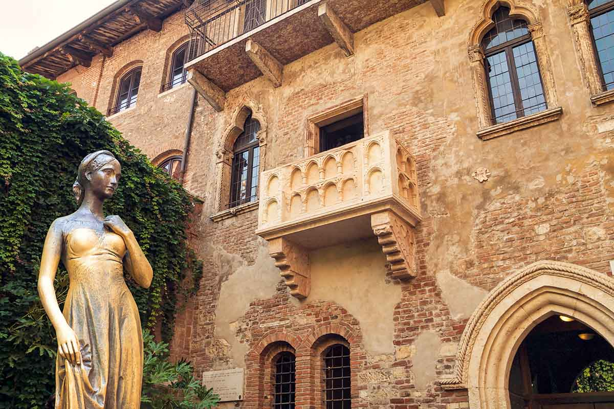 San Valentino a casa di Giulietta a Verona
