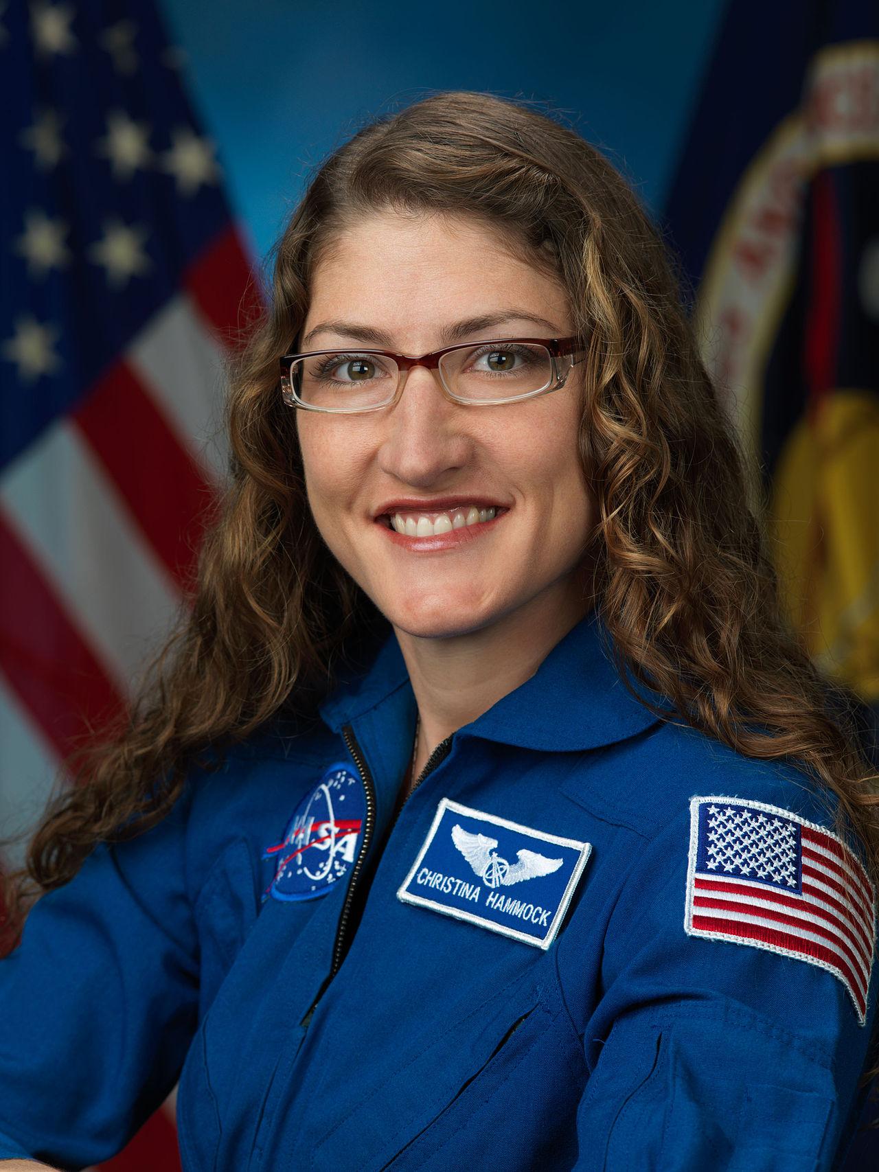 L'Astronauta NASA Christina Hammock Koch