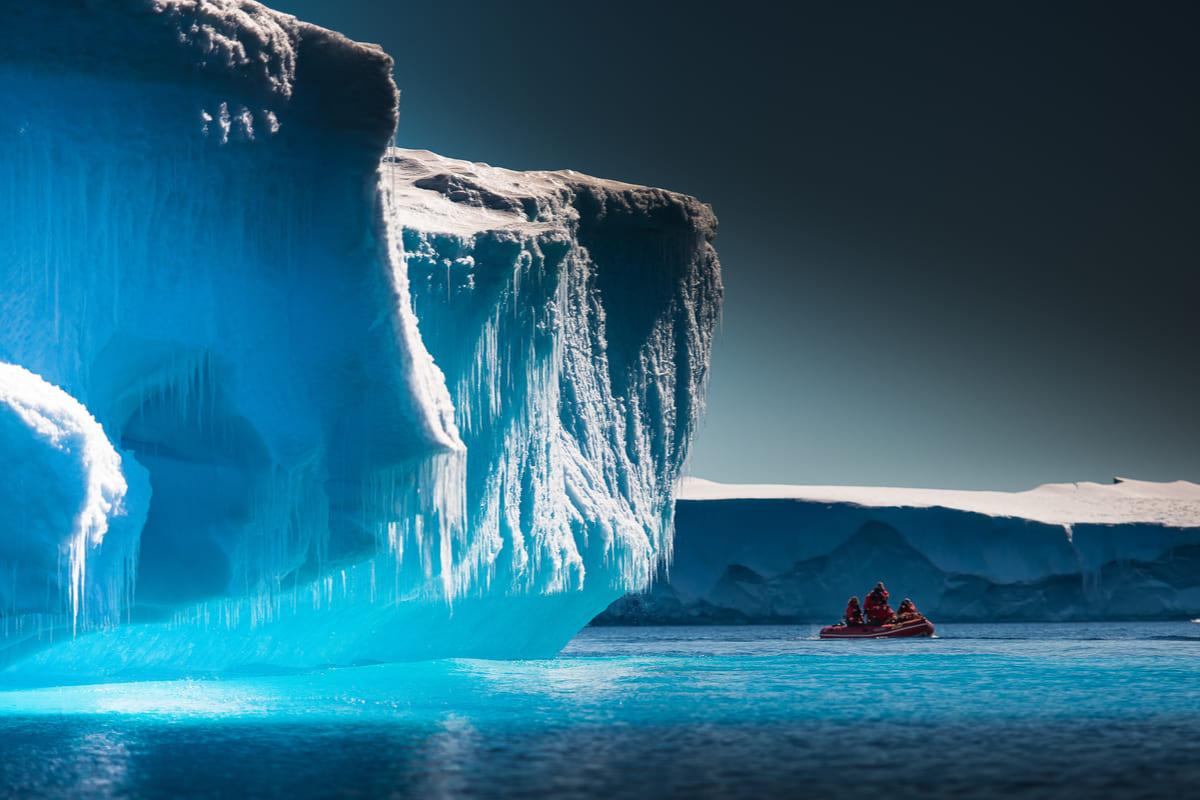 Caldo record in Antartide