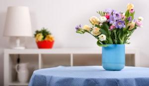 Pillole di interior design: arredare casa con i fiori