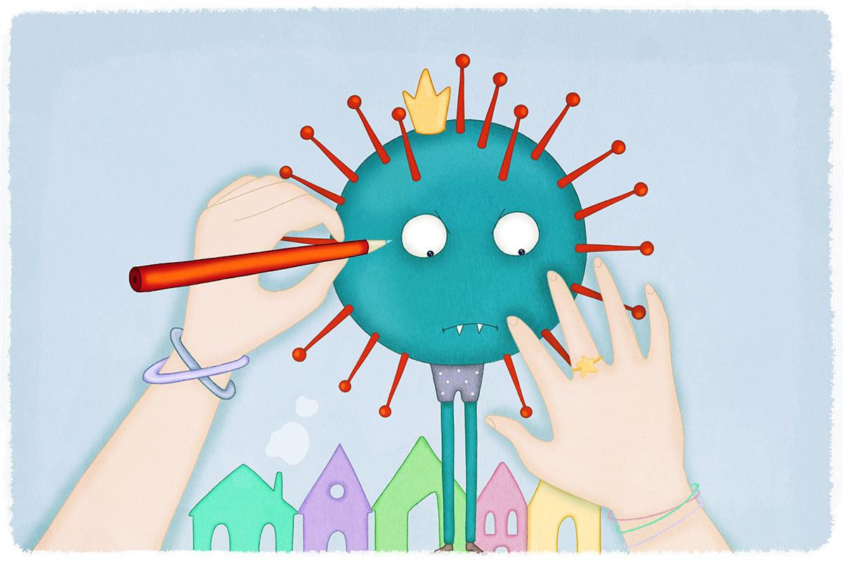 Coronavirus bambini Coronavirus bambini