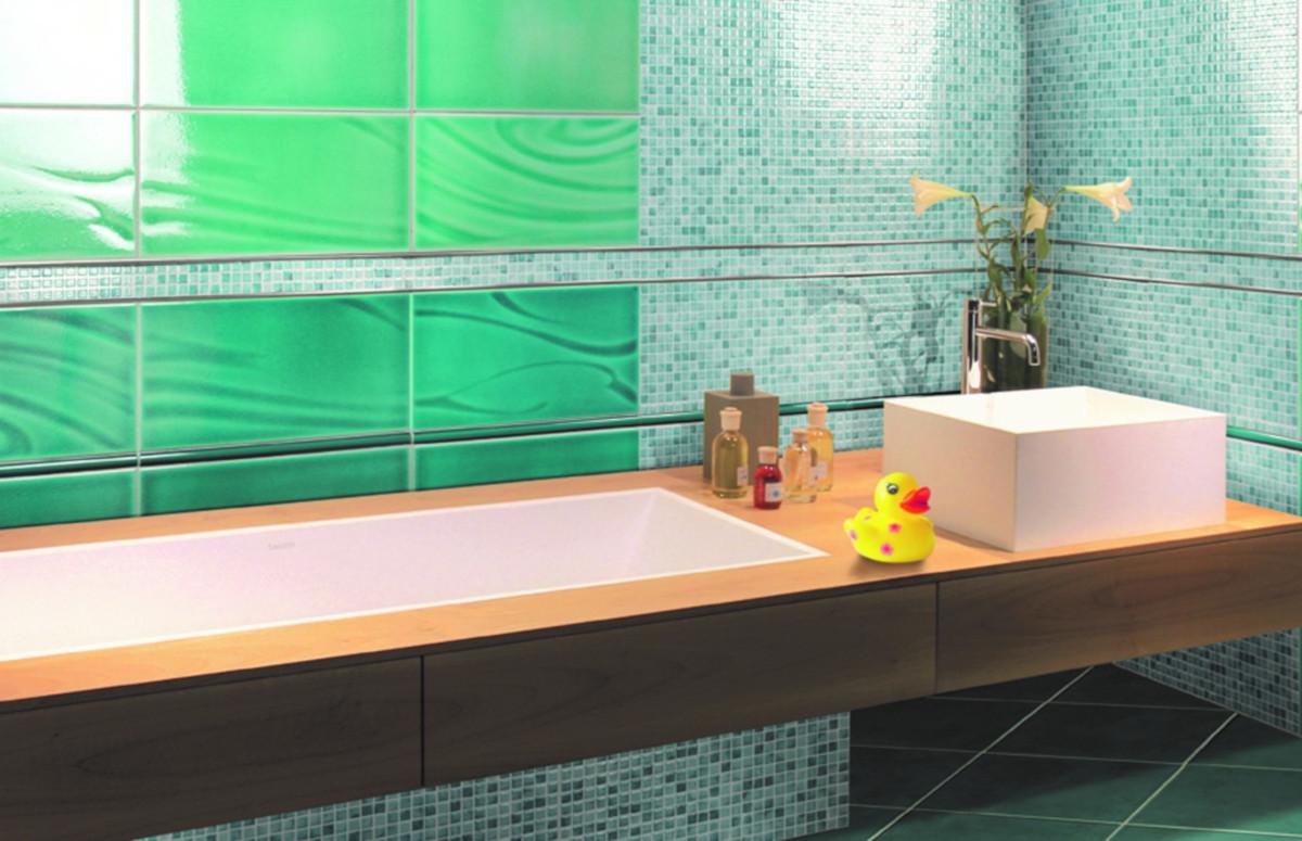 il bagno in verde